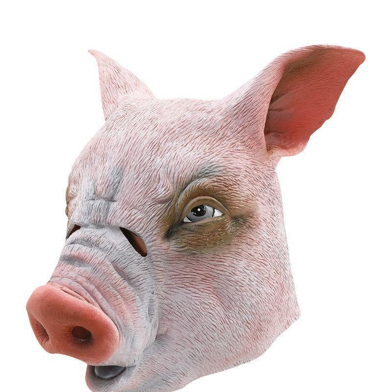 Pig Rubber Overhead Mask (Rubber Masks) - Unisex - One Size