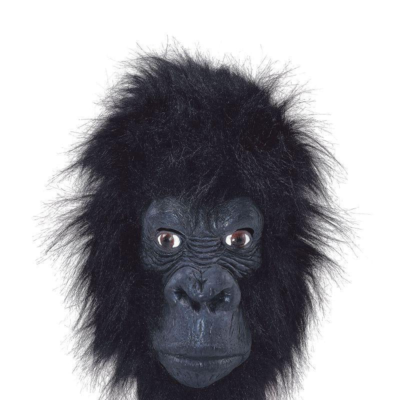 Gorilla Mask (Closed Mouth) (Rubber Masks) - Unisex - One Size