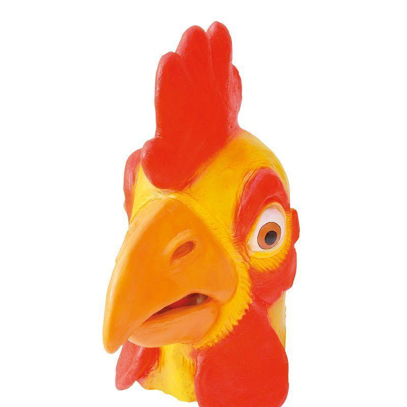 Chicken Mask. Rubber Overhead (Rubber Masks) - Unisex - One Size