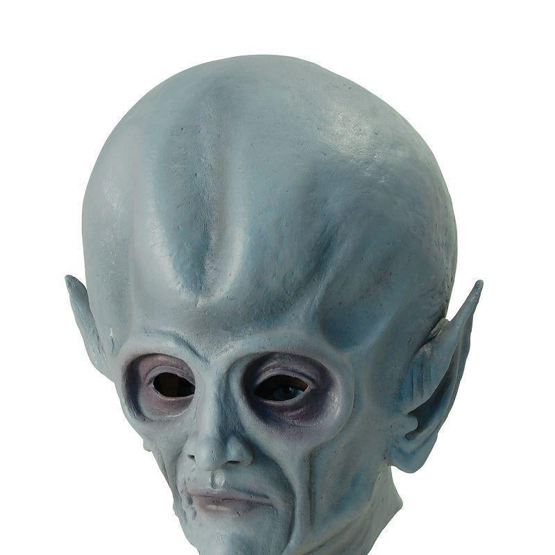 Mens Alien (Rubber Masks) - Male - One Size Halloween Costume