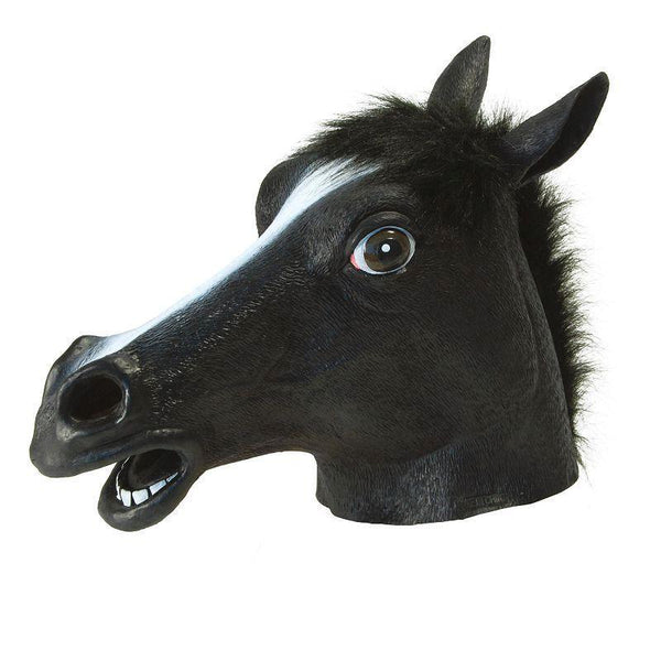 Black Beauty (Horse) (Rubber Masks) - Unisex - One Size