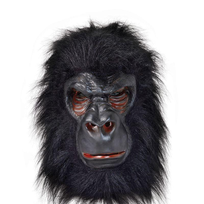 Gorilla (Latex) With Black Hair. (Masks) - Unisex - One Size