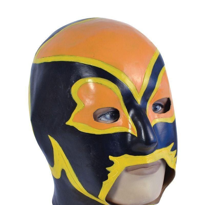 Mens Wrestler (Rubber Masks) - Male - One Size Halloween Costume