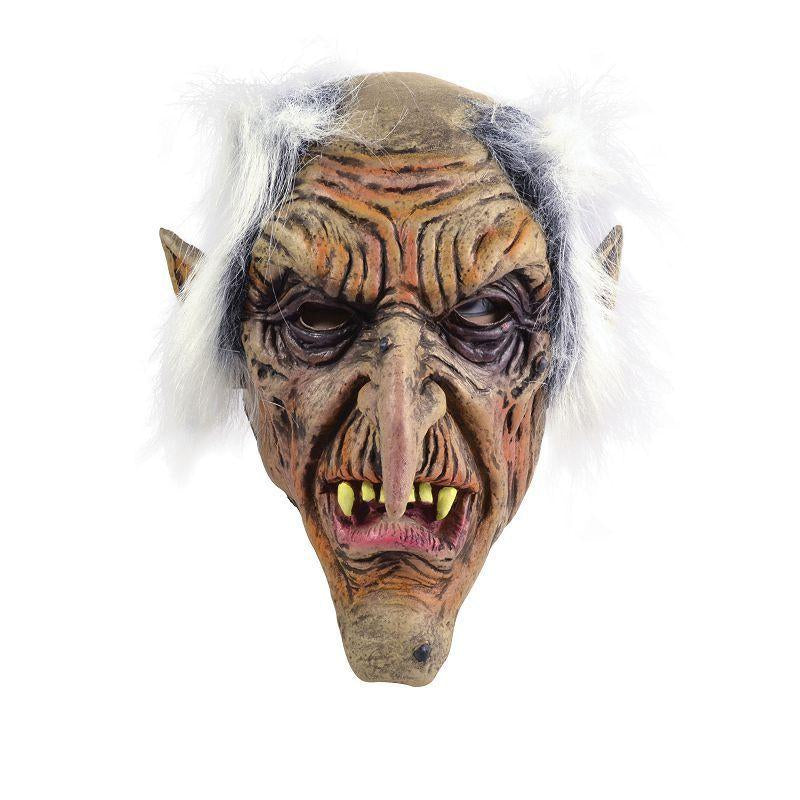 Mens Goblin (Rubber Masks) - Male - One Size Halloween Costume