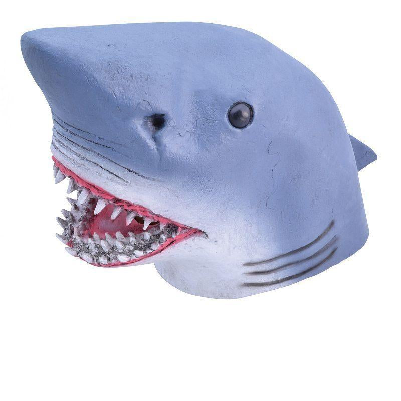 Mens Shark. (Rubber Masks) - Male - One Size Halloween Costume
