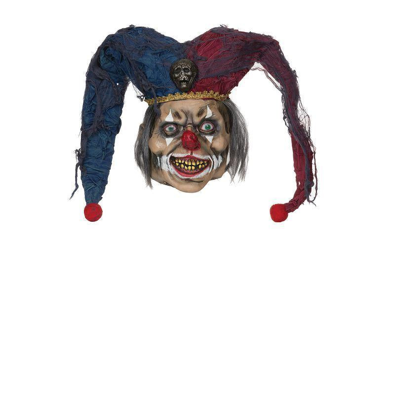 Deranged Jester Mask (Rubber Masks) - Unisex - One Size
