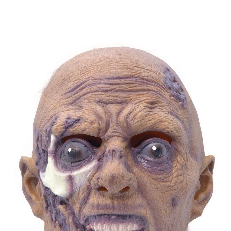 Mens Grave Riser Mask. (Rubber Masks) - Male - One Size Halloween Costume