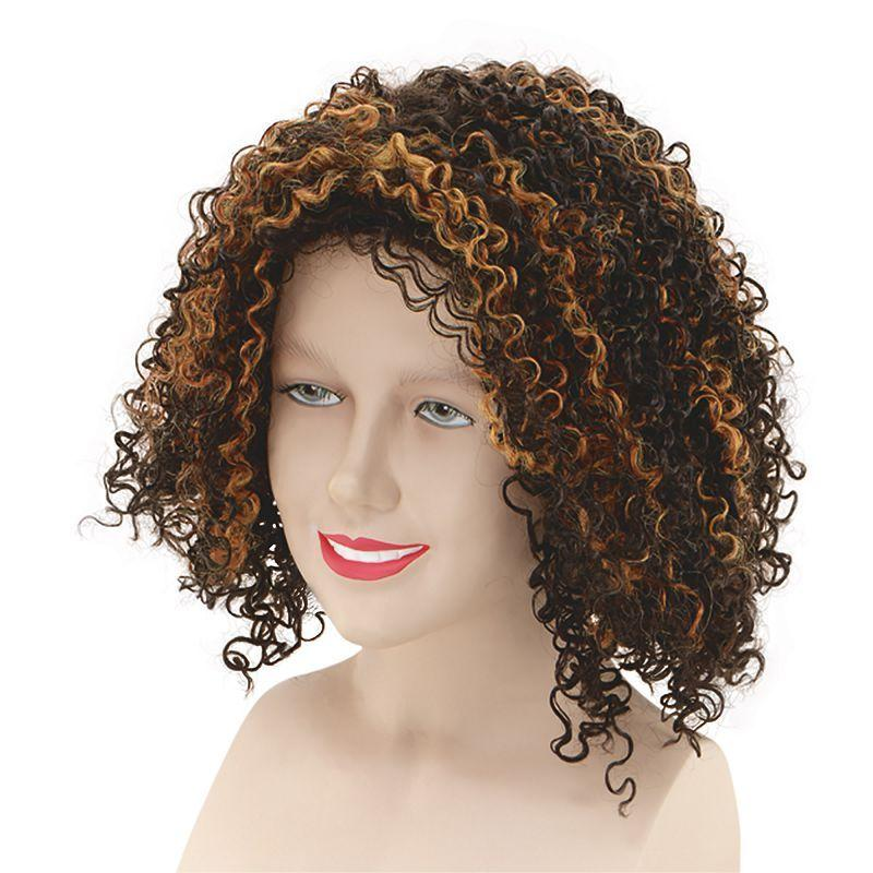 Womens Mel B Scary Spice Wig (Wigs) - Female - One Size Halloween Costume