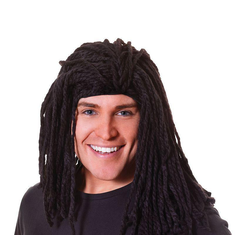 Mens Rasta Wig. Long Ruud Guillet (Wigs) - Male - One Size Halloween Costume