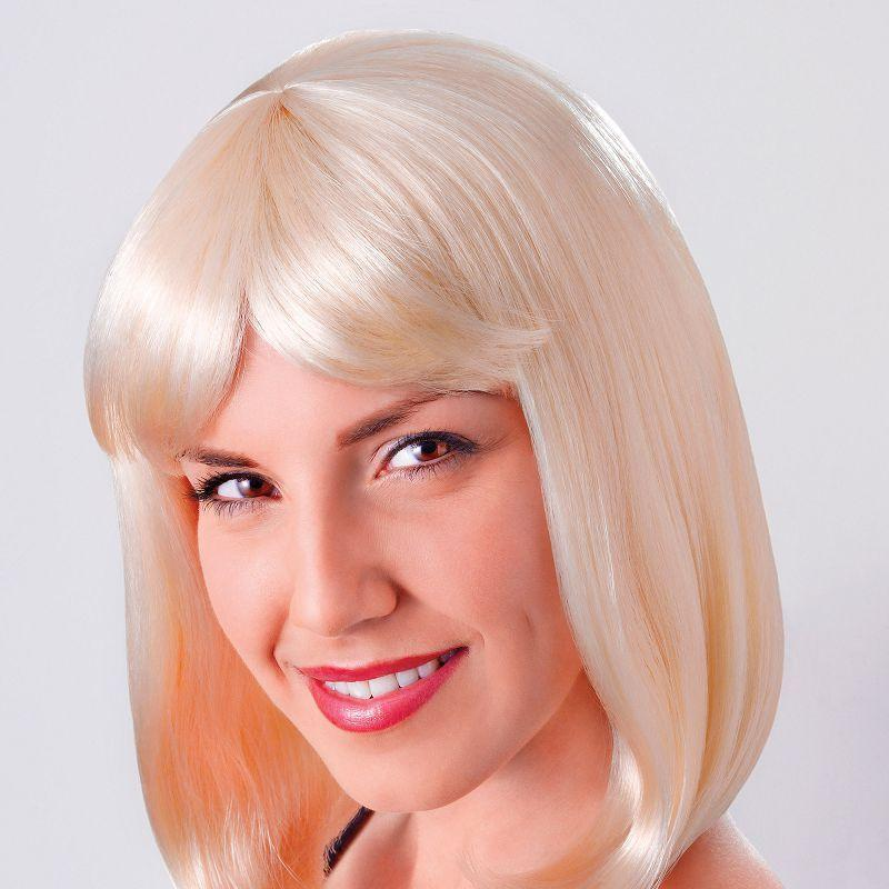 Womens Cheerleader Wig. Blonde Best (Wigs) - Female - One Size Halloween Costume