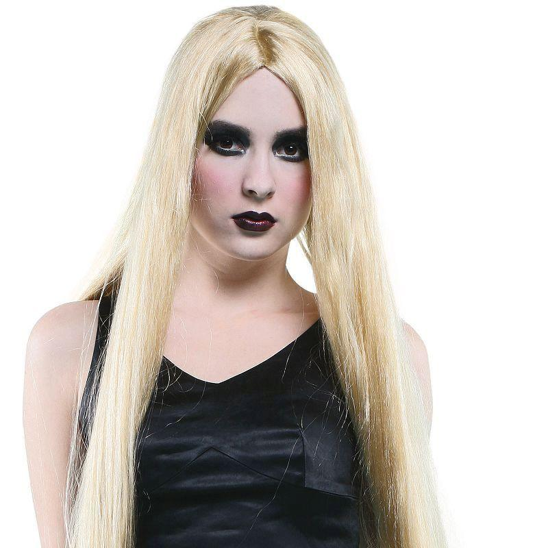 "Womens Long 40"" Wig. Blonde (Wigs) - Female - 40"" Halloween Costume"