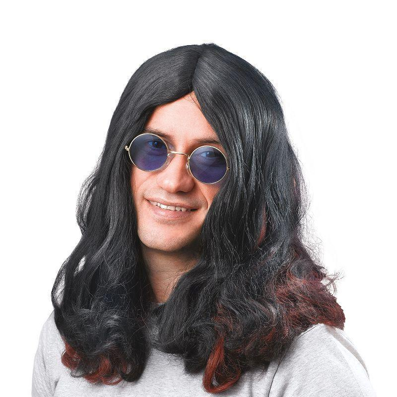Mens Ozzy Osbourne Wig. (Wigs) - Male - One Size Halloween Costume