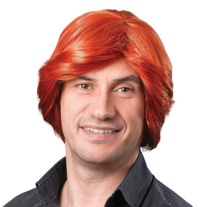 Mens Tony Wig. Ginger (Wigs) - Male - One Size Halloween Costume