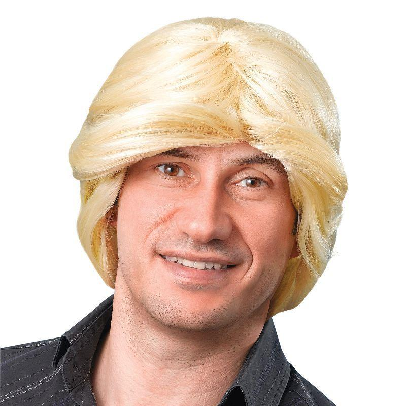 Mens Tony Wig. Blonde (Wigs) - Male - One Size Halloween Costume