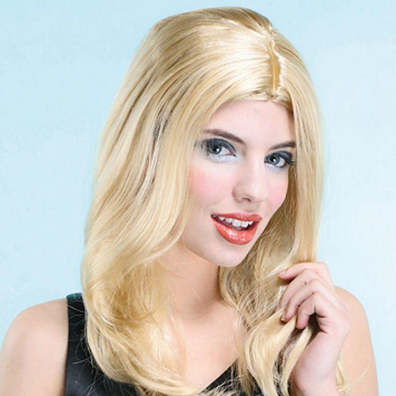 Womens Lisa Wig. Blonde (Wigs) - Female - One Size Halloween Costume