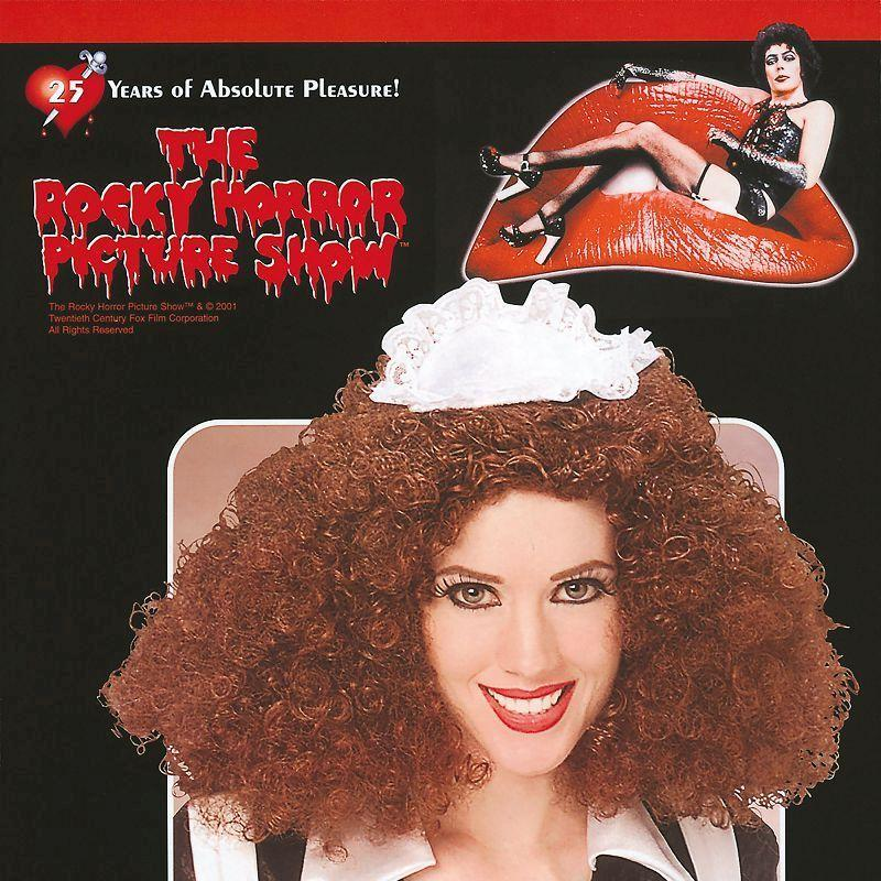 Womens Magenta Wig (Wigs) - Female - One Size Halloween Costume