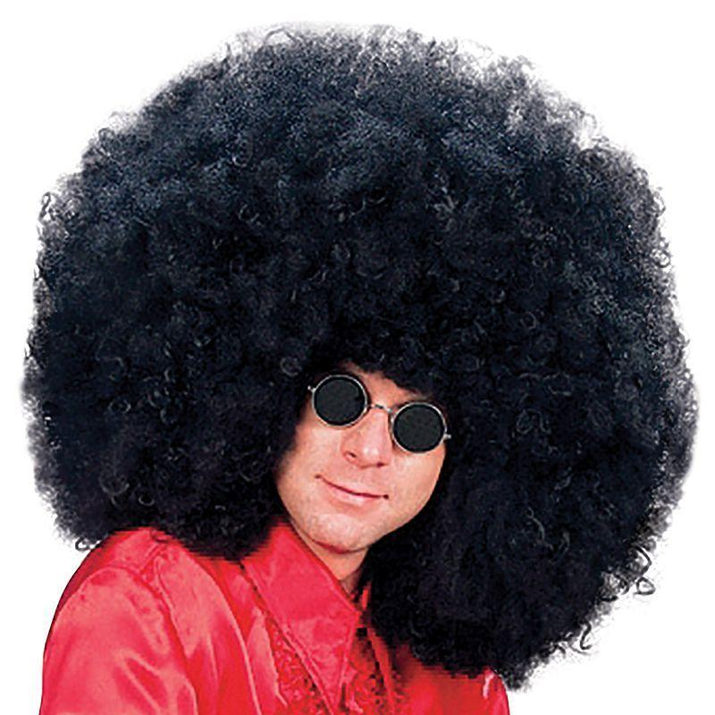 Mens Super Jimmy Wig (Wigs) - Male - One Size Halloween Costume