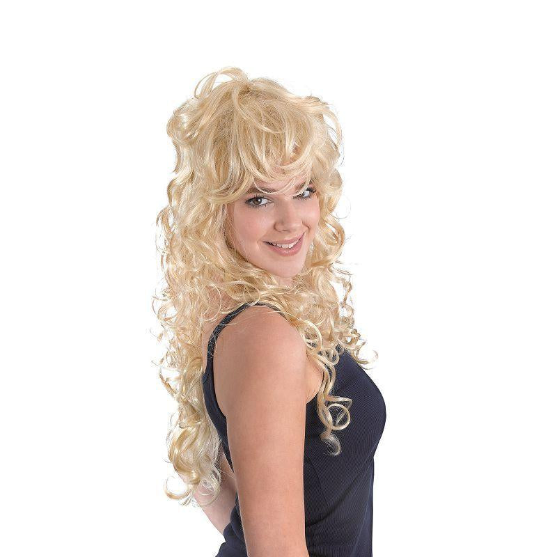 Womens Rock Chick. Blonde (Wigs) - Female - One Size Halloween Costume