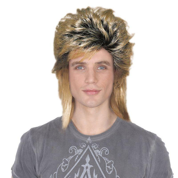 Mens 80s New Romantic. Male (Wigs) - Male - One Size Halloween Costume