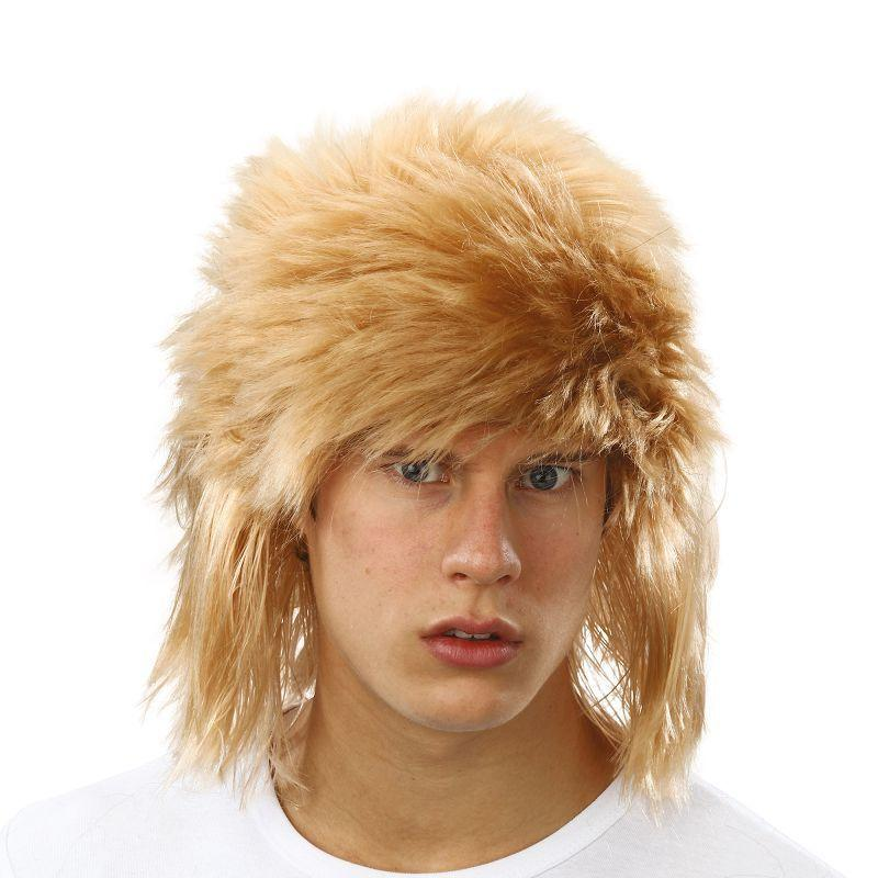Mens Shaggy Wig. Blonde (Wigs) - Male - One Size Halloween Costume