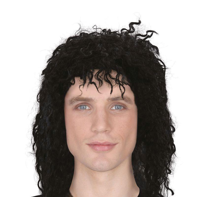 Mens Weird Guy Wig (Wigs) - Male - One Size Halloween Costume