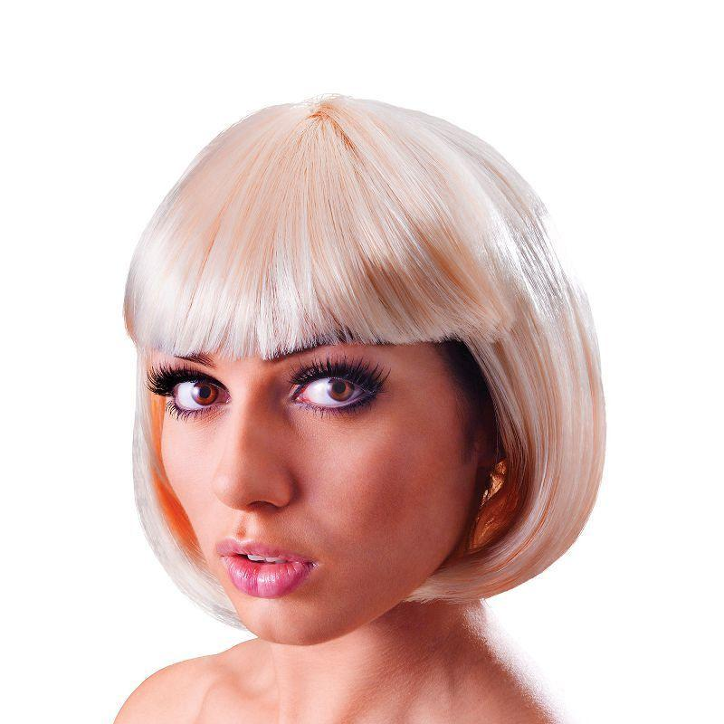 Womens Elegant Bob. Blonde. (Wigs) - Female - One Size Halloween Costume
