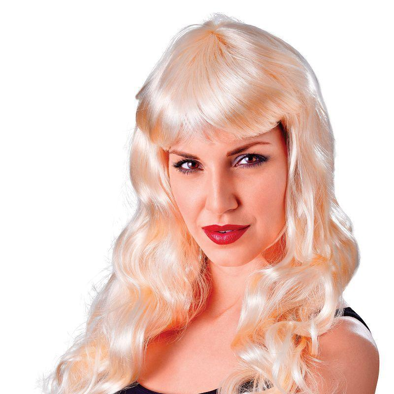 Womens Temptress Gothic. Blonde. (Wigs) - Female - One Size Halloween Costume