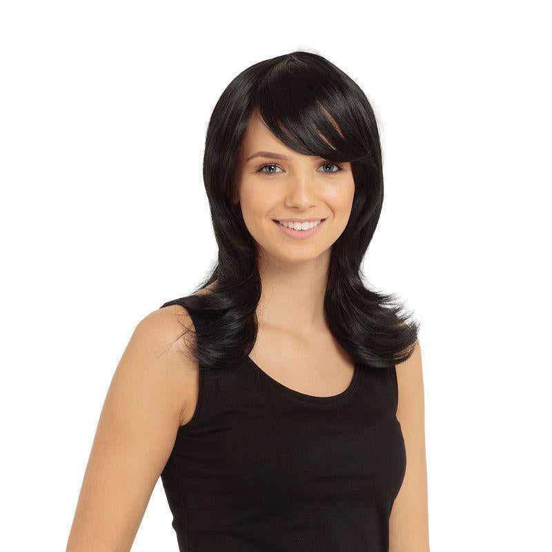 Francesca Wig Black (Wigs) - Female - One Size