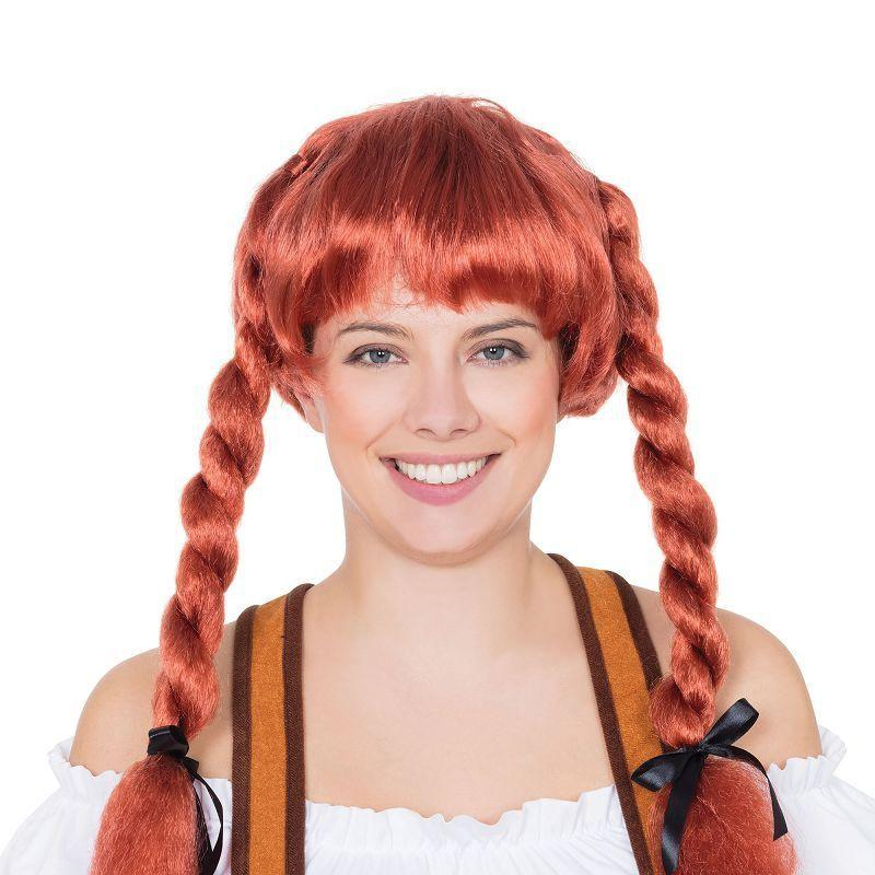 Fraulein Pigtaill Wig Auburn (Wigs) - Female - One Size Fits Most
