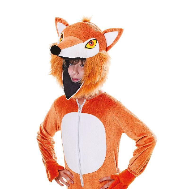 Fox. Big Head. Childrens Costumes - Unisex - One Size.