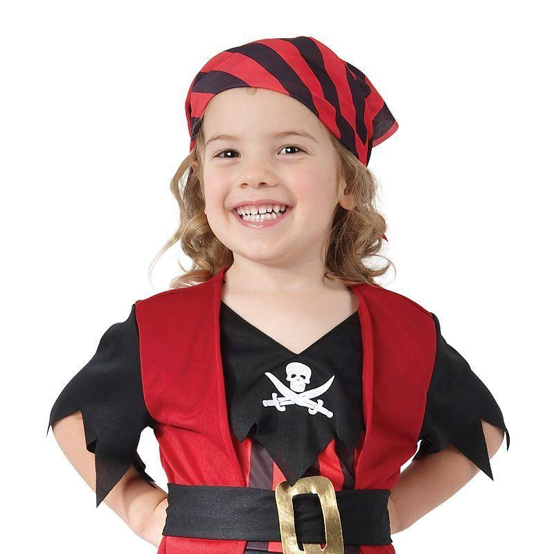Girls Pirate Girl Toddler. Childrens Costumes - Female - Toddler. Halloween Costume