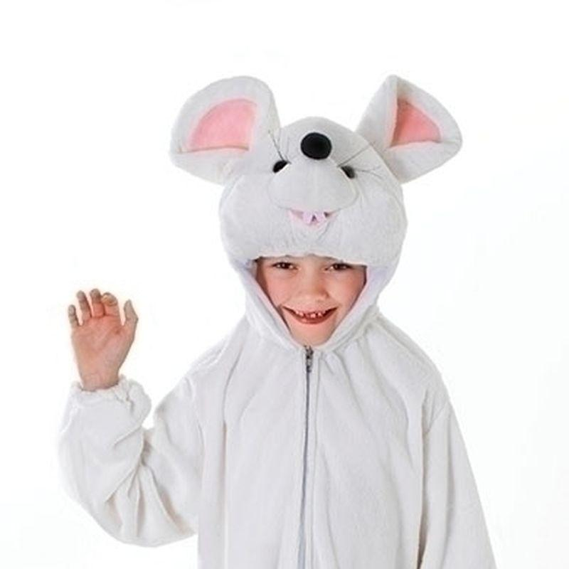 White Mouse (Small) Childrens Costumes - Unisex - Small