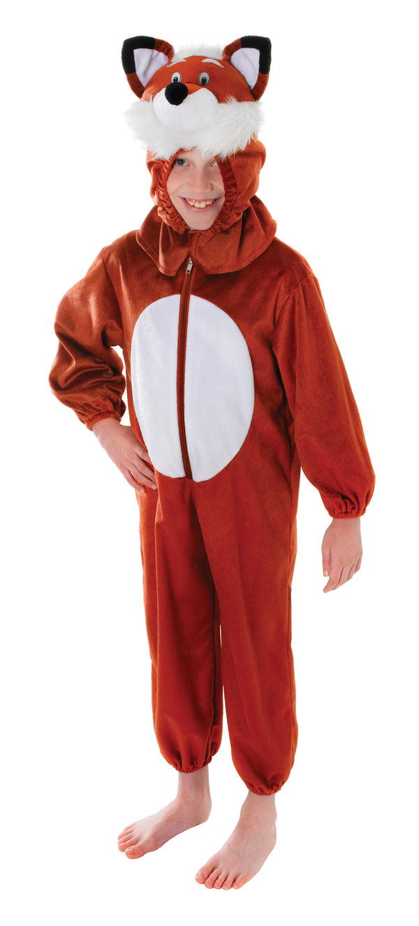 Fox 128cm Childrens Costumes Unisex 128cm Brown