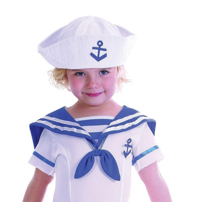 Girls Sailor Girl Toddler Childrens Costumes - Female - One Size Halloween Costume