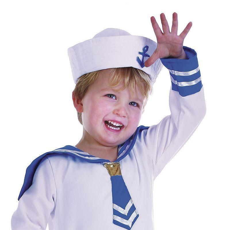 Girls Sailor Boy Toddler Childrens Costumes - Female - One Size Halloween Costume
