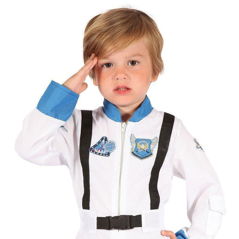 Boys Astronaut Toddler. (Childrens Costumes) - Male - To Fit Child Of Height 90cm-100cm Halloween Costume