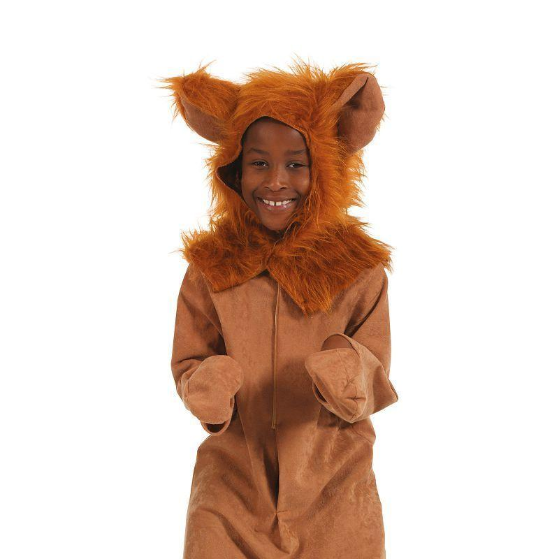 Lion, Fur Fabric. 5/7 Yrs Childrens Costumes - Unisex - 5/7 Years.