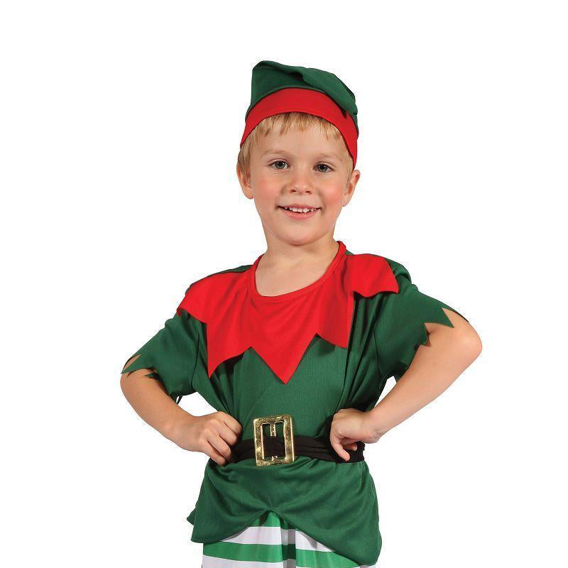 Boys Santa Helper Boy Toddler. (Childrens Costumes) - Male - To Fit Child Of Height 90cm-100cm Halloween Costume