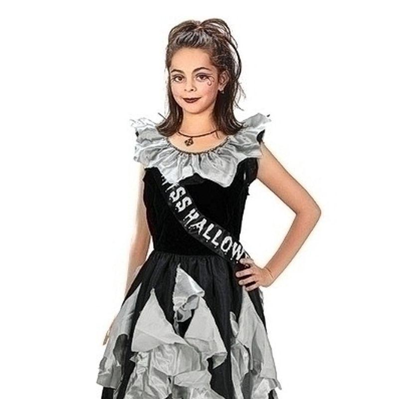Girls Zombie Prom Queen (11-13 Years). Childrens Costumes- Female - 11-13 Years Halloween Costume