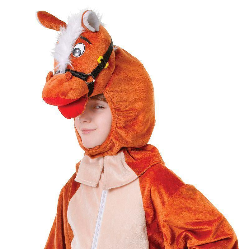 Horse With Head 128cm. Childrens Costumes - Unisex - One Size