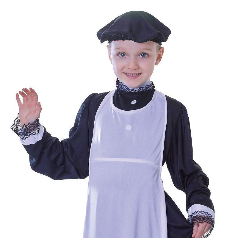 Girls Victorian Apron Childrens Costumes - Female - One Size. Halloween Costume