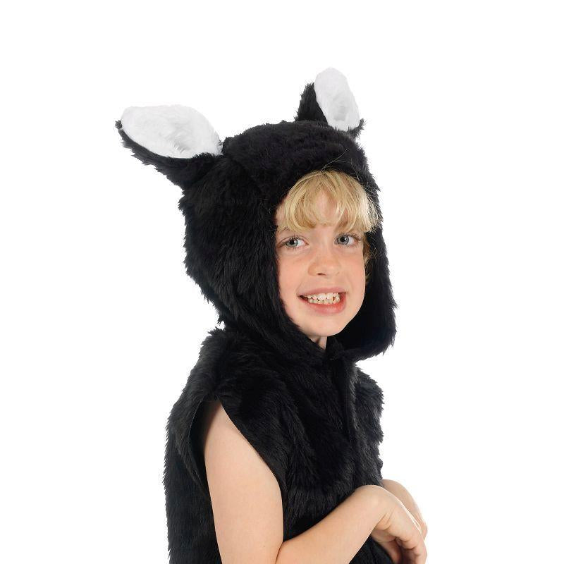 Cat Fur Tabbard Childrens Costumes - Unisex - One Size.