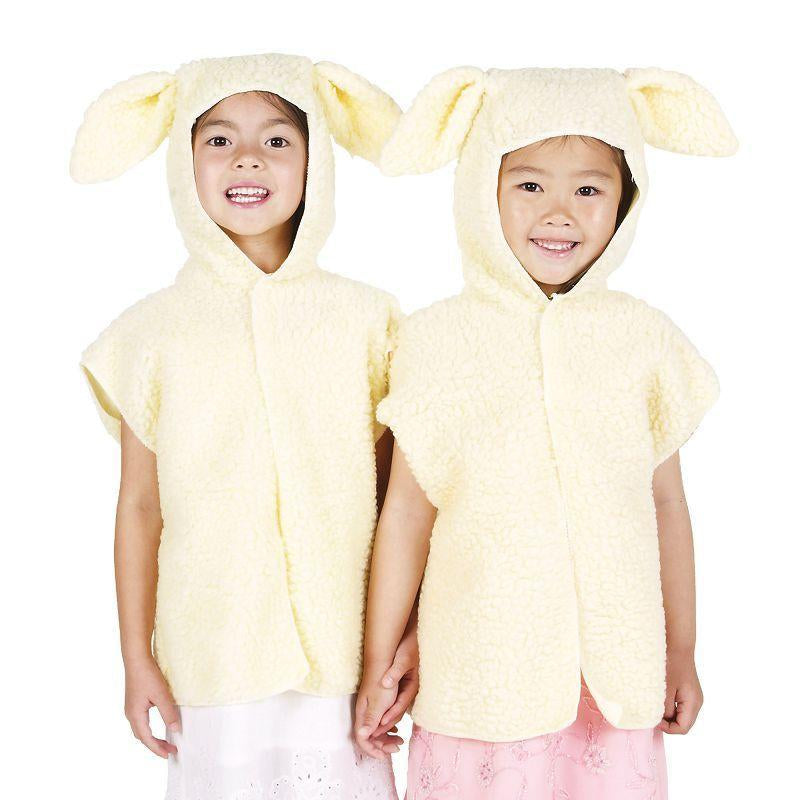 Lamb Fur Tabbard Childrens Costumes - Unisex - One Size.