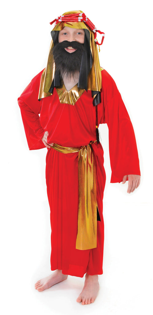 Wise Man Red Small Childrens Costumes Boys
