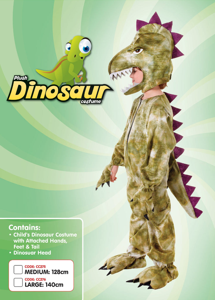 Dinosaur 140cm Children's Costumes Unisex 140 Cm Green Fancy Dress portsmouth party Halloween