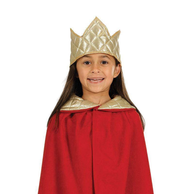 Nativity Tabbard- King. Red Childrens Costumes - Unisex - One Size.