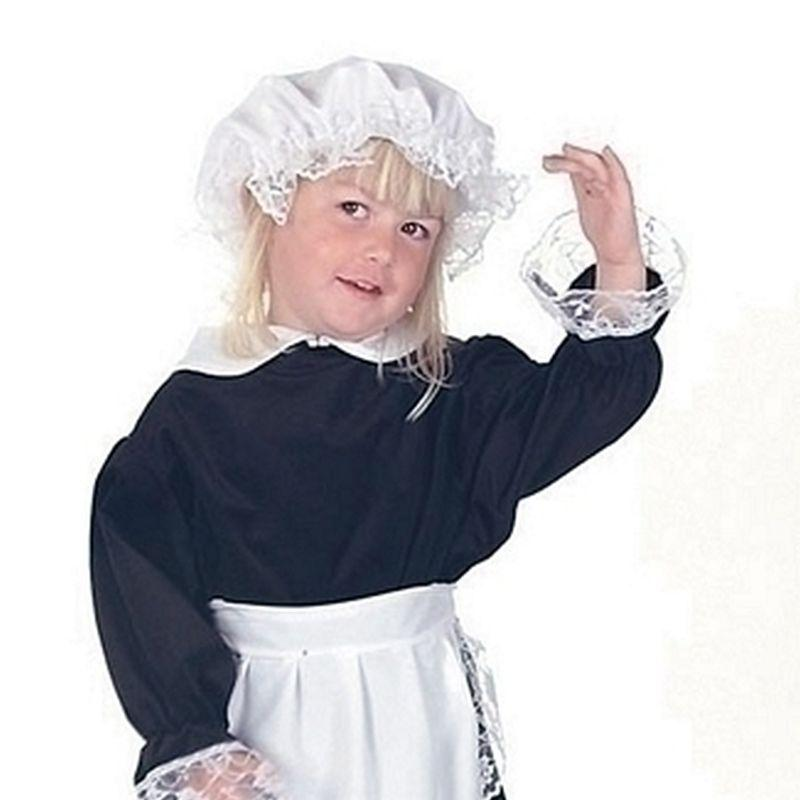 Girls Elsie The Parlour Maid 7/9yrs 140cm Childrens Costumes - Female - 7/9yrs 140cm. Halloween Costume