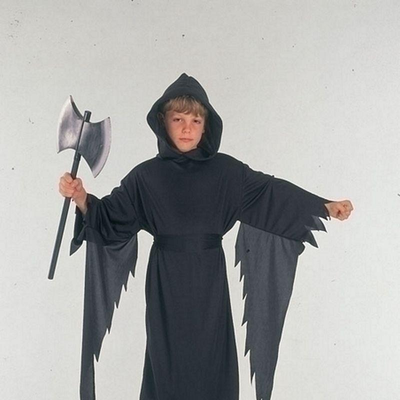 Boys Demon/Scream (Large) Childrens Costumes - Male - Large, 9-12 Years. Halloween Costume