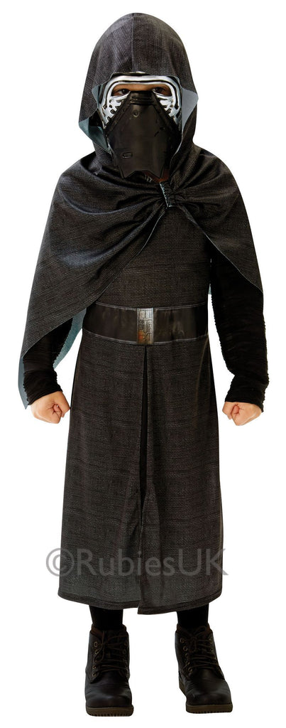Star Wars The Force Awakens: Kylo Ren Deluxe (M) Pack Contents : Printed Hood With Robe & Mask Male Kids Ages 5 6 years Colour : Black