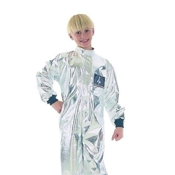 Boys Astronaut (Small) Budget Childrens Costumes - Male - Small, 5-7 Years. Halloween Costume